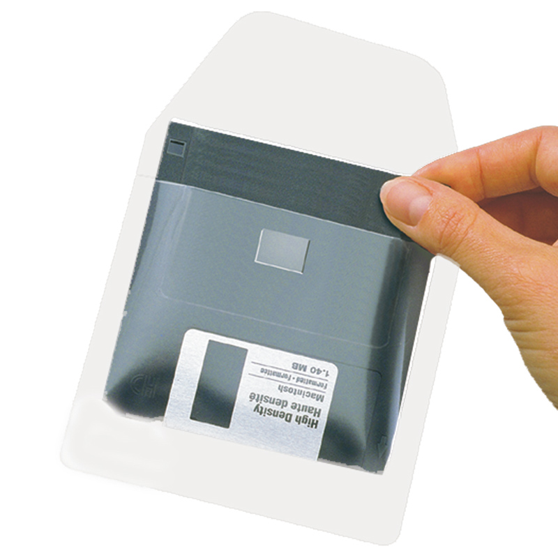 Self-Adhesive Diskette Pockets